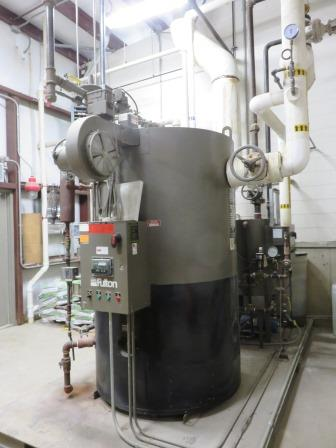 Fulton boiler provides steam for pellet mill